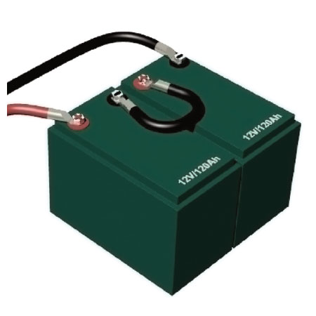 connecting batteries in series or parallel or both Basic 12 Volt Battery Wiring batteries connected in a series