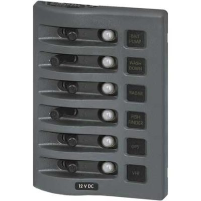 12V DC Waterproof Circuit Breaker Panel
