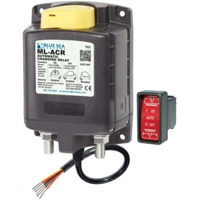 Automatic Charging Relay with Manual Control