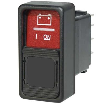 SPDT Remote Control Contura Switch - (ON)-OFF-(ON)