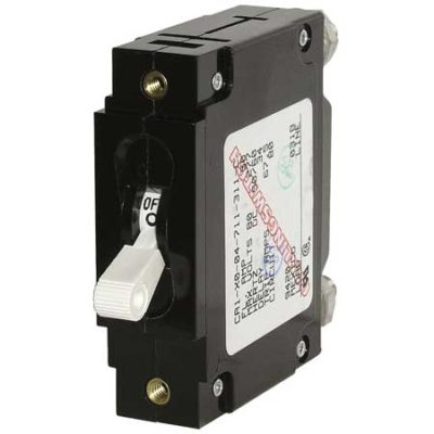 C-Series White Toggle Circuit Breaker - Single Pole 5 Amp