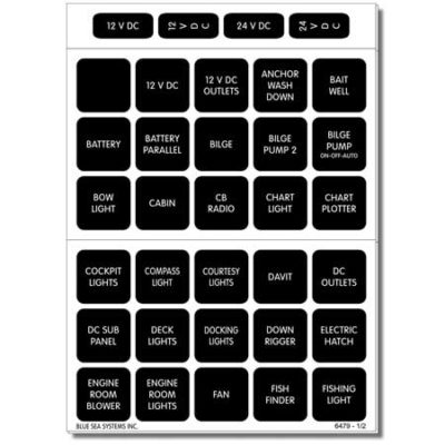 Square Format Labels