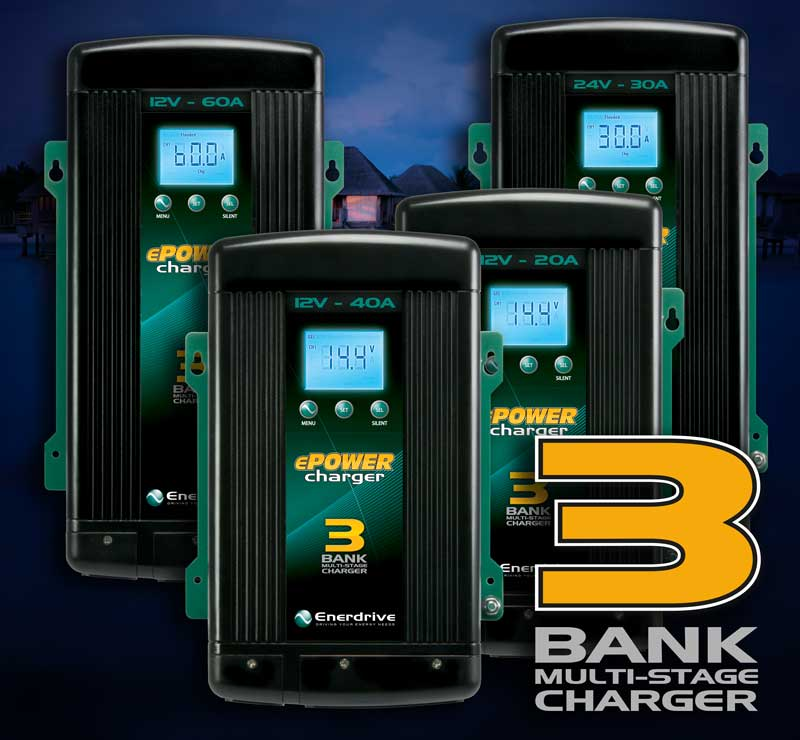 Enerdrive AC Smart Battery Chargers