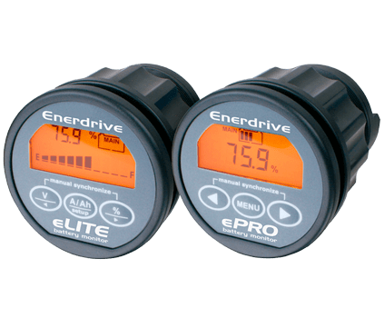 Enerdrive eLITE & ePRO Battery Monitor