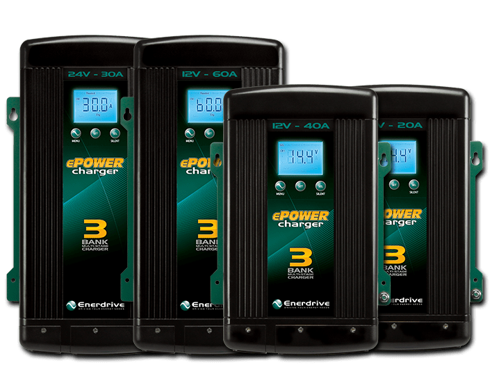 Enerdrive AC Charger Range (Group Image)