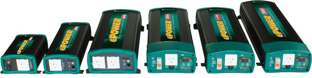 Enerdrive Power Inverter Range.