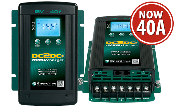 Enerdrive DC2DC Battery Chargers