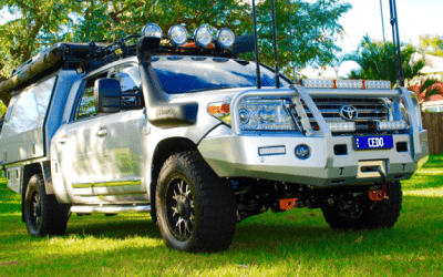 200 Series Landcrusier Off-Road Lithium Powered Beast