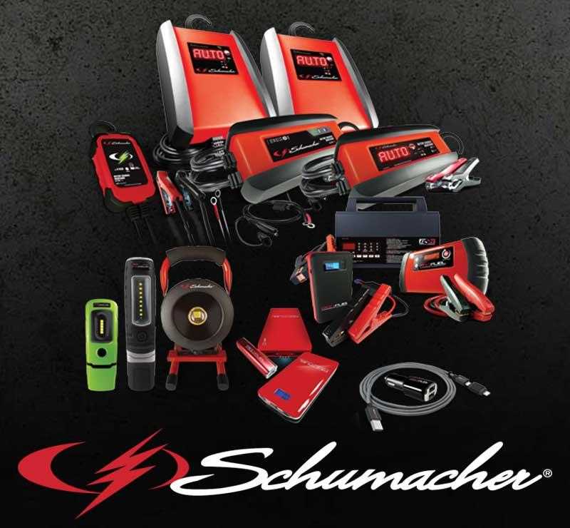 Schumacher Driven By Enerdrive.