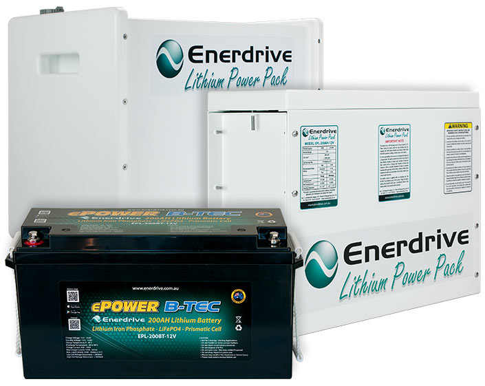 Lithium Batteries & Installation Kits.