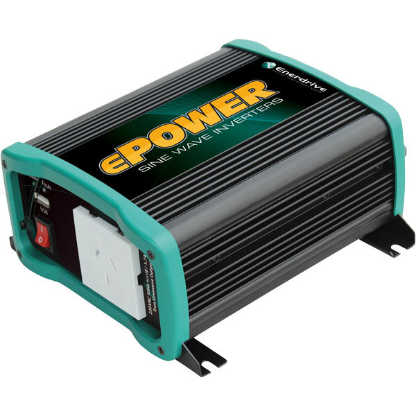 Chargers & Inverters Enerdrive Epower 2600w 12v True Sine Wave Inverter With Ac Transfer & Safety Swi Home & Garden