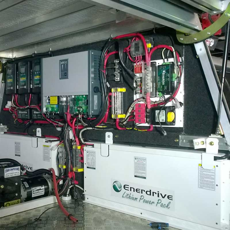 Lithium Battery Systems Enerdrive Pty Ltd